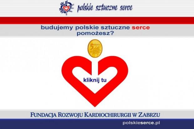 Przekaż 5 groszy na polskie sztuczne serce