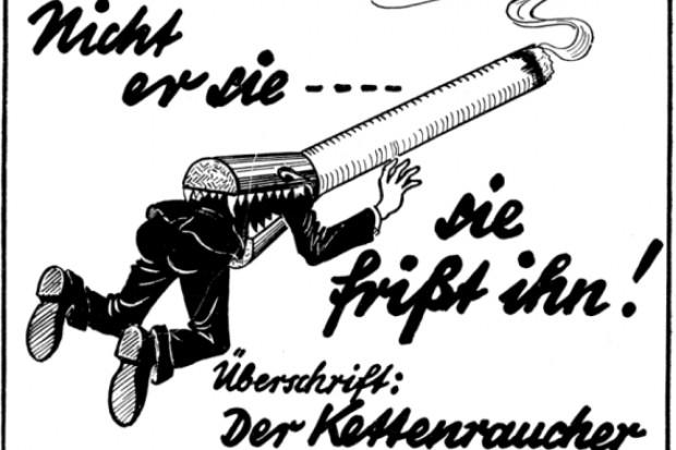 Z historii ruchu antynikotynowego: Reine Luft, czyli czyste powietrze...
