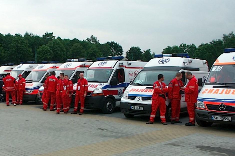 Łódź: pogotowie wyposażyło karetki na wypadek pandemii grypy