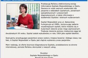 Opole: pacjenci nie ufają miejscowym szpitalom?
