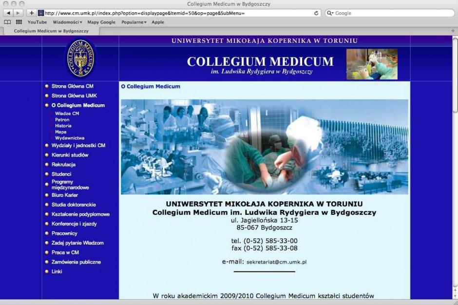 Collegium Medicum UMK: czy połączenie uczelni było potrzebne?