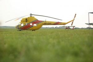 Płock: pożyczyli helikopter stolicy,  Kraków użyczył im Mi-2