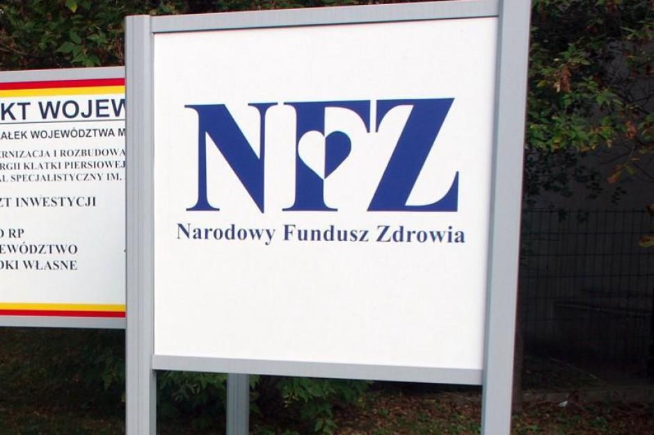 Małopolska: NFZ będzie aneksował umowy wg jednej miarki