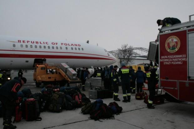 Haiti: usterka samolotu naprawiona, ratownicy wrócą zgodnie z planem