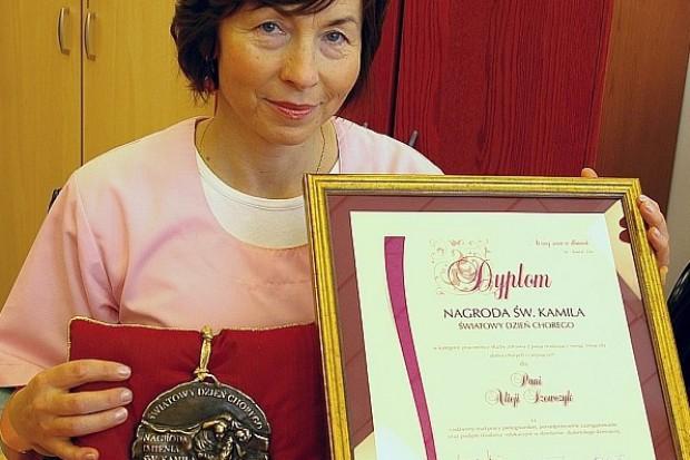 Nagroda św. Kamila dla pielęgniarki z CZD