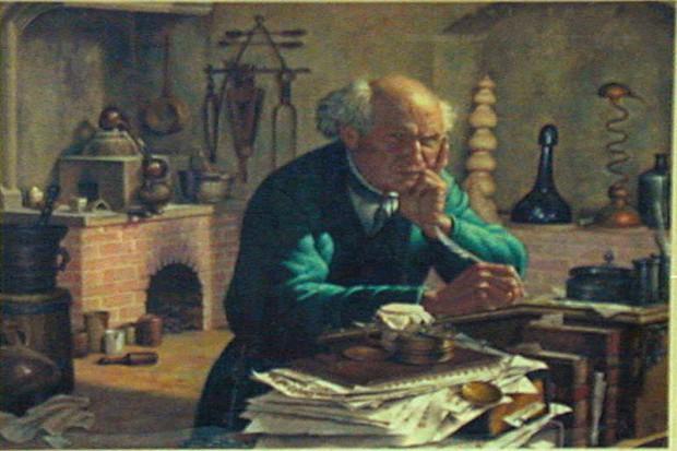 Frombork: wystawa dawnych narzędzi aptekarskich