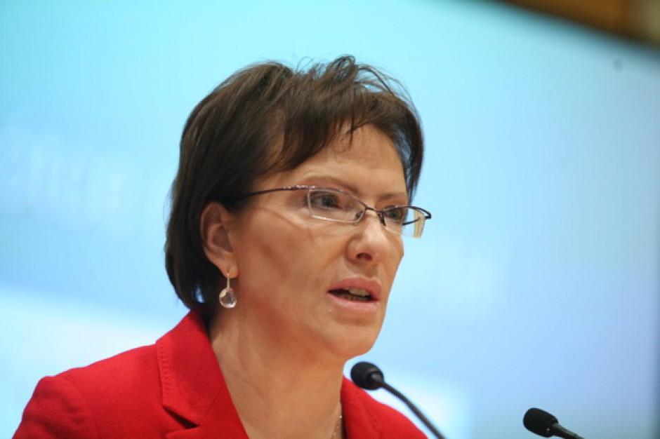 Ewa Kopacz: w marcu nowy pakiet ustaw