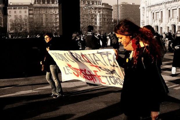 Warszawa: przeciwnicy aborcji przed Sejmem
