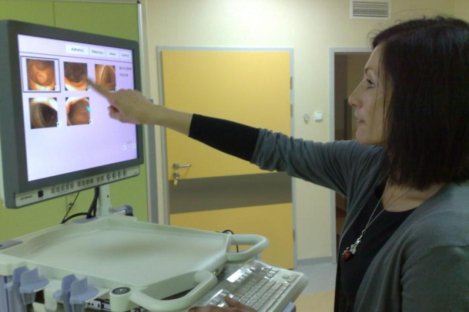 Bełchatów: nowoczesna endoskopia = większy kontrakt?