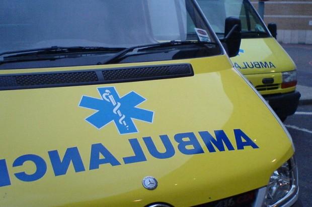Łódź: wypadek karetki, są ranni
