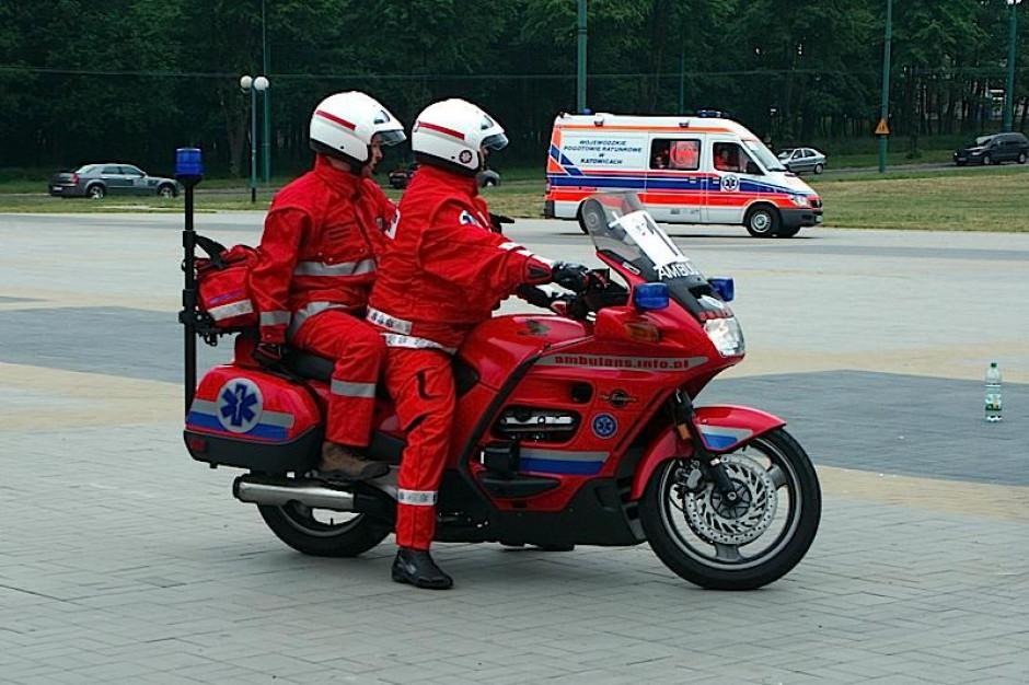 Olsztyn: od maja ratownik na motocyklu