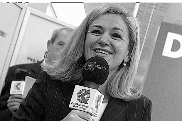 """Jej radiowych audycji o zdrowiu słuchał cały Śląsk, a """"Dyktando"""" znali wszyscy Polacy"""