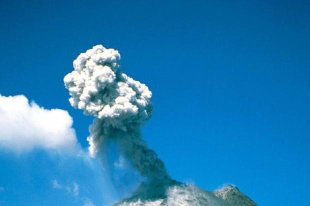 Pył wulkaniczny nie jest zagrożeniem dla zdrowia