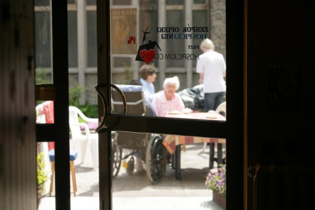Gdańsk: siostry Radwańskie odwiedziły hospicjum