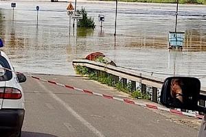 Nowa Sól: fala nadchodzi, szpital wstrzymuje przyjęcia