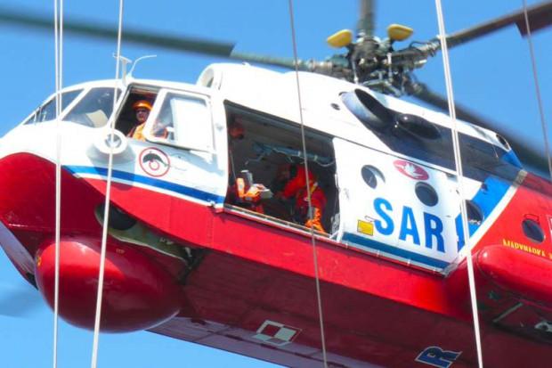 Śmigłowiec Marynarki Wojennej na ratunek