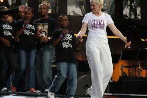 Annie Lennox ambasadorką dobrej woli UNAIDS