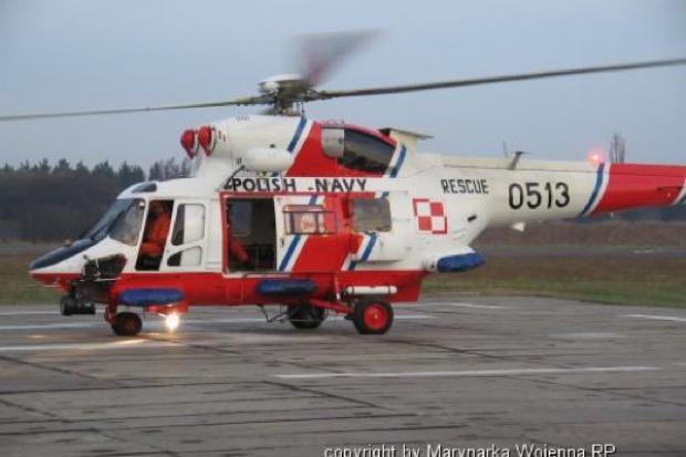 Gdynia: śmiertelny wypadek ratownika ze śmigłowca Marynarki Wojennej
