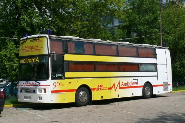Warszawa: jedyny w kraju autobusowy ambulans