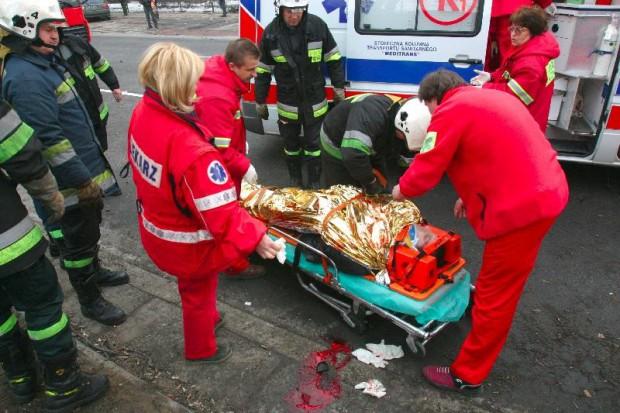 Środek zwiększający krzepliwość krwi może ratować ofiary wypadków