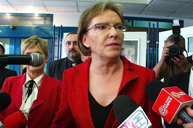 Ewa Kopacz: pacjenci to nie amunicja wyborcza