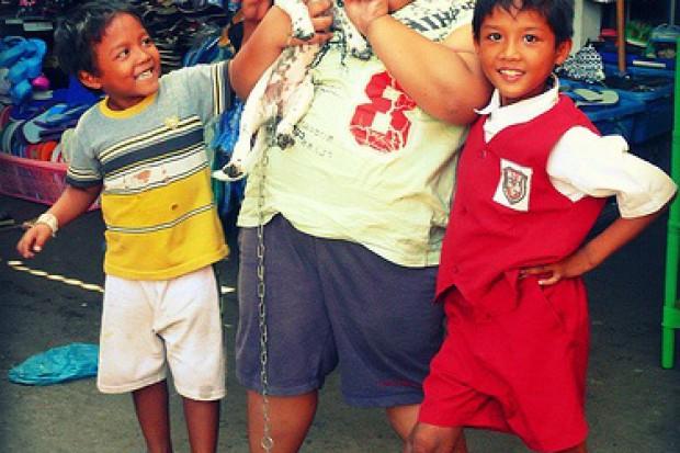Brak ruchu nie jest główną przyczyną otyłości u dzieci?