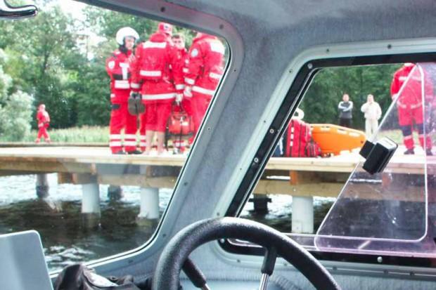 Łódzkie: ratownicy przypłyną wodną karetką
