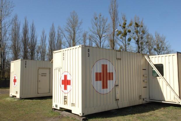 I znów na polach grunwaldzkich stanął szpital...