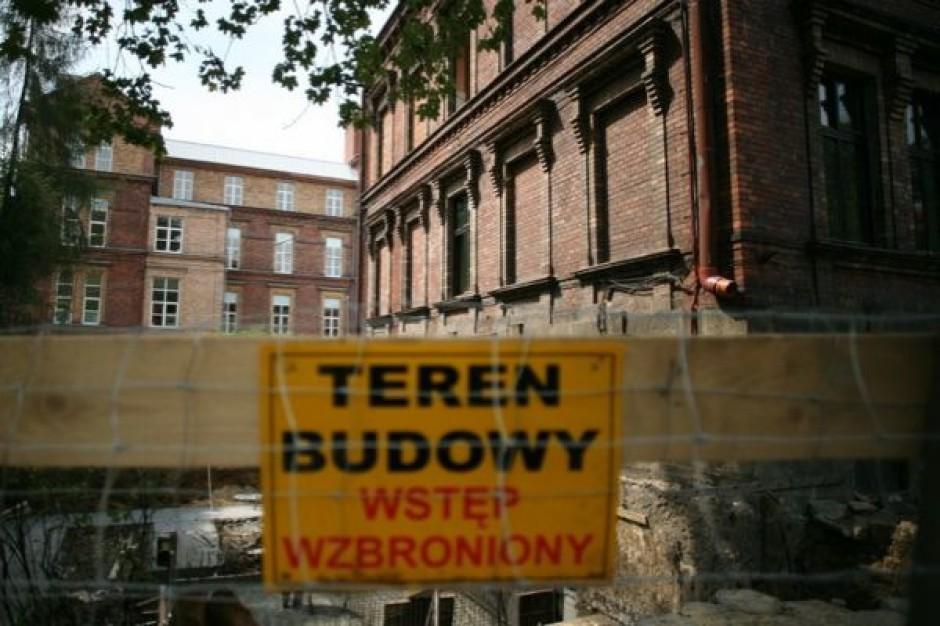 Wrocław: remont w szpitalu - trzeba pytać o zgodę konserwatora zabytków