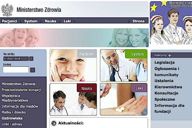 MZ: wyłoniono realizatorów programów zdrowotnych