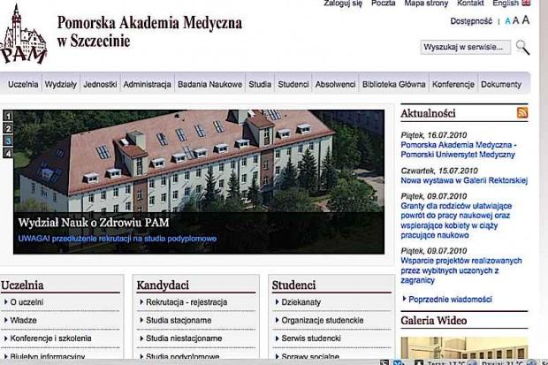 Szczecin: z Akademii w Uniwersytet
