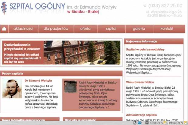 Bielsko-Biała: modernizacja miejskiego szpitala
