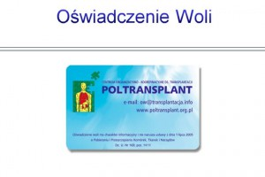 Olsztyn: zachęcają do dawstwa narządów