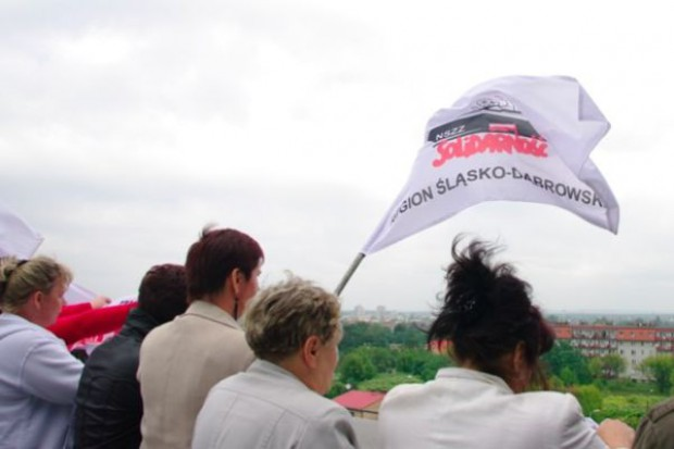 Dąbrowa Górnicza: salowe zaostrzają protest