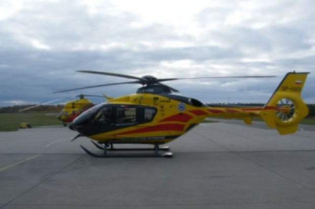 Włoszczowa: otwarto całodobowe lądowisko dla helikopterów