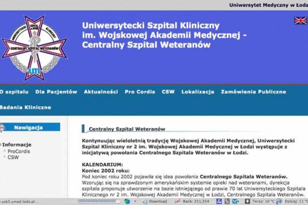 Łódź: w Centralnym Szpitalu Weteranów otwarto nowoczesną klinikę chirurgii