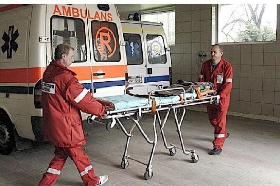 Łódź: karetki muszą wozić pacjentów do szpitali