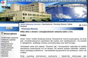 Kutno: starosta pomaga staroście ratować szpital