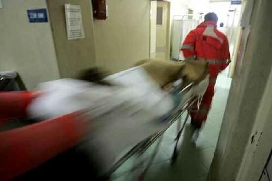 Warszawa: bezdomny spędziłnoc w szpitalnej poczekalni
