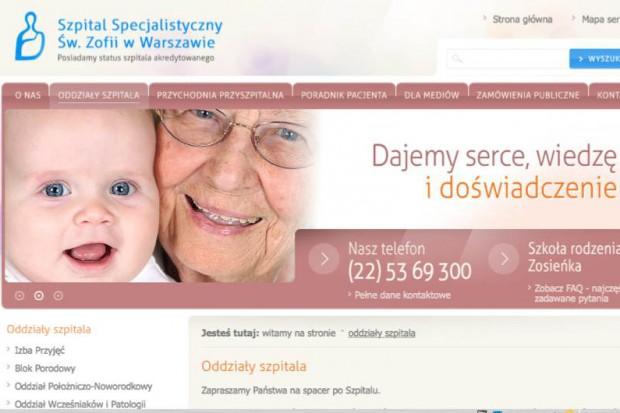 Warszawa: zakończono kolejny etap rozbudowy Szpitala św. Zofii