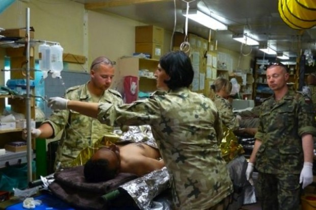 Braki kadrowe w wojskowej służbie zdrowia sięgają ok. 36 proc.