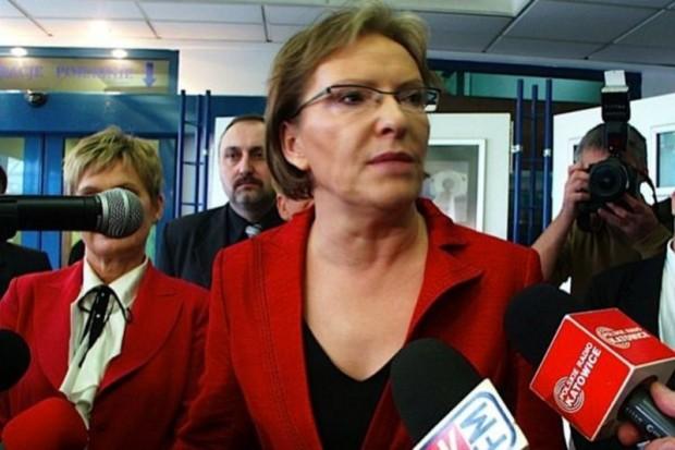 Ewa Kopacz o in vitro i transplantologii