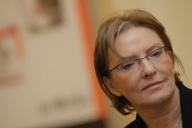 Ewa Kopacz: bez ulgi podatkowej rynek polis nie ma szans