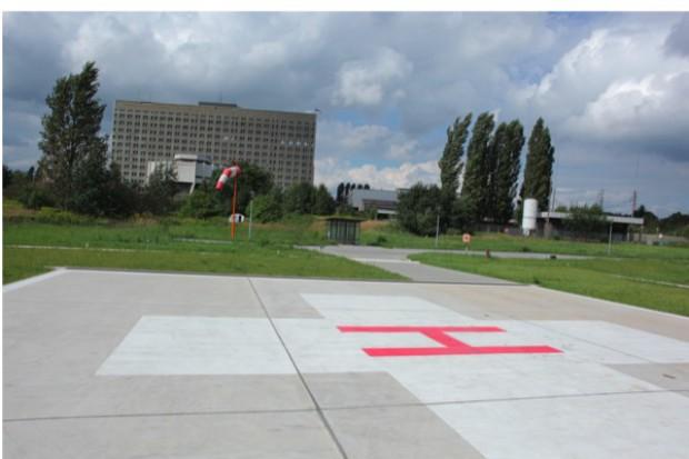 Kielce: otwarto przyszpitalne lądowisko po modernizacji