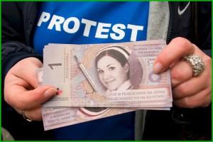 Lublin: związkowcy pikietowali pod siedzibą NFZ. Chcą kontraktów dla szpitala