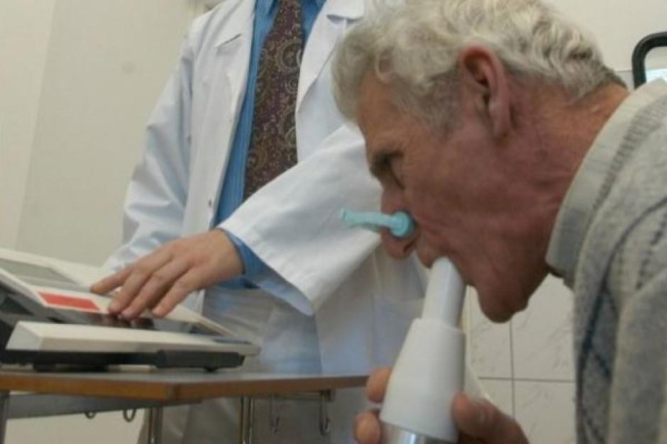 Eksperci: niewielki spadek umieralności z powodu POChP