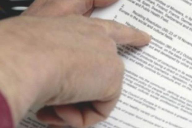 Gdańsk: który raport o PCT czytała minister Kopacz?