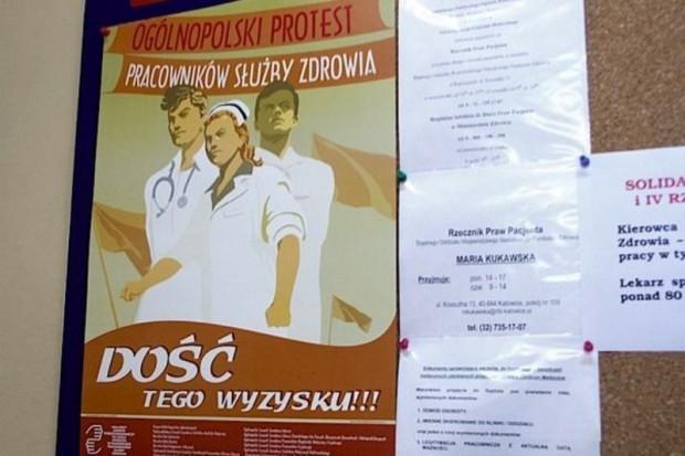 Śląskie: w czwartek kolejny protest OZZL