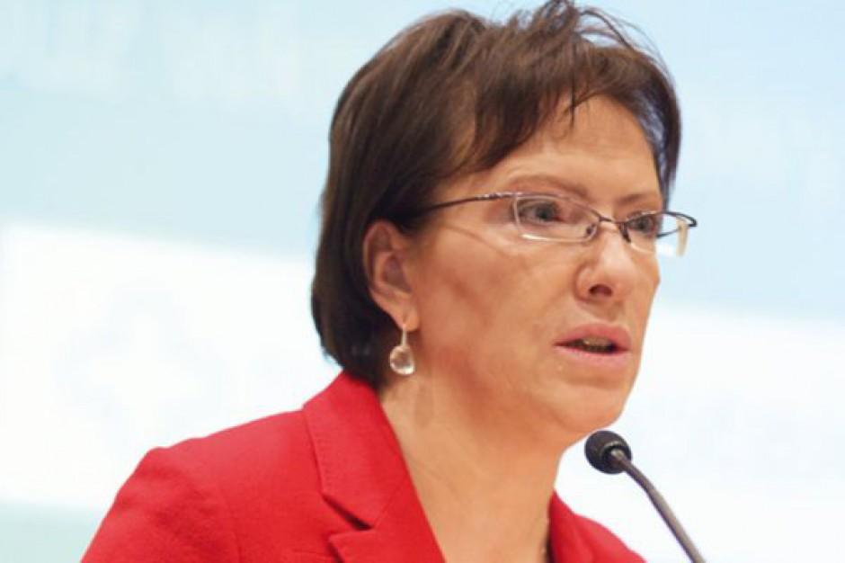 Ewa Kopacz o negocjacjach z PZ: pacjent nie może być zakładnikiem