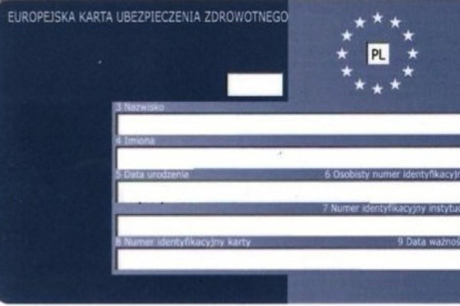 Od stycznia 2011 r. karta EKUZ będzie wydawana na 6 miesięcy
